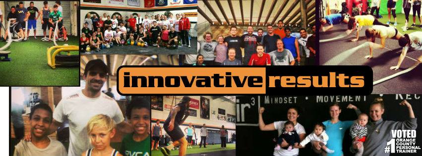 Orange County personal trainers at Innovative Results, The Orange County Fitness Playground
