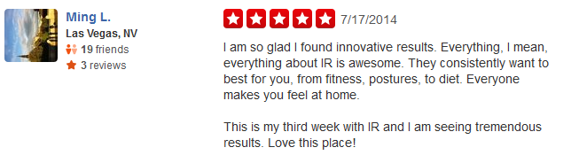 review of our personal trainers in costa mesa