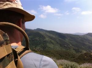 Aaron Guyett Views Commando Course