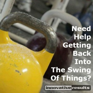 kettlebell, kettlebells, and personal training at Innovative Results