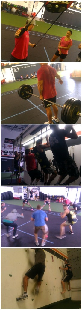workout collage