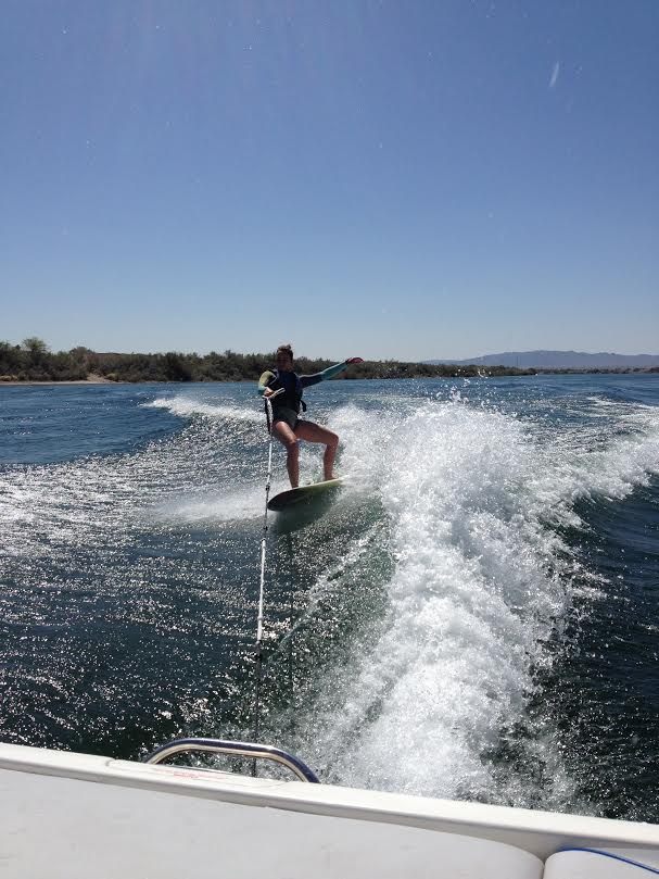 britteny wakeboarding