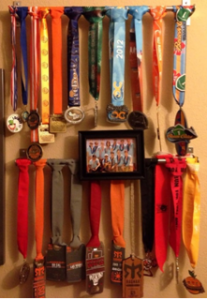Shane Medals, winning, medals, achieve goals, fitness goals