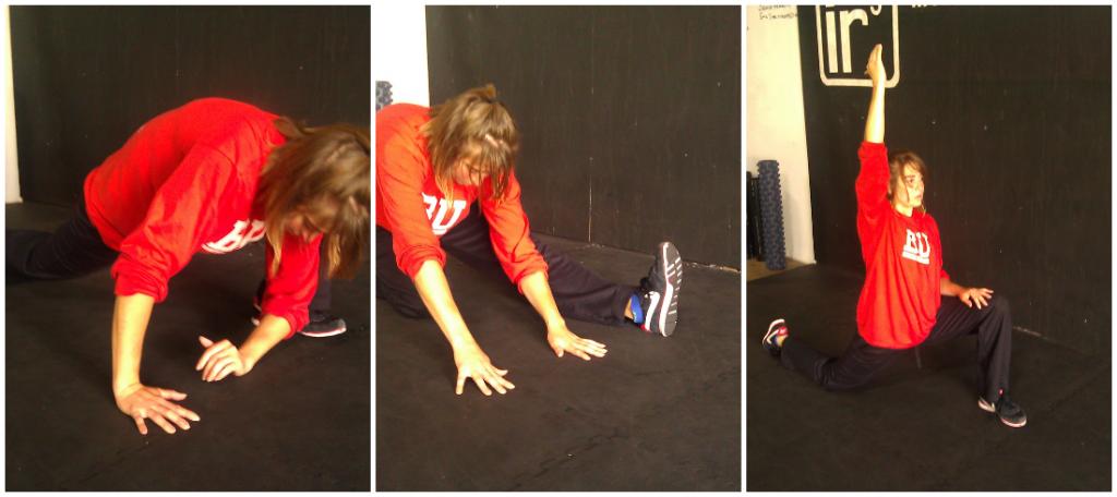 workout - hamstring hip flexor series