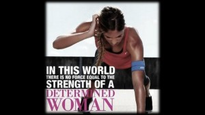 Determined Women Quote