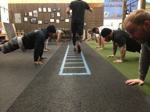 AM Pushup Line