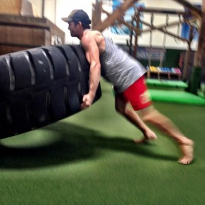 flipping the tire 2