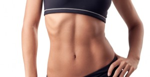female torso and abs