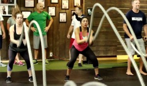battle ropes, workouts for women, women at Innovative Results, Innovative Results women, orange county fitness gym, fitness gym, orange county gym