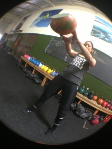 glute exercises: kettlebell swing