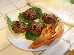 black bean burgers 2, eat healthier and save some time and money