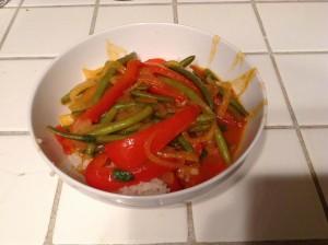 red pumpkin curry 2