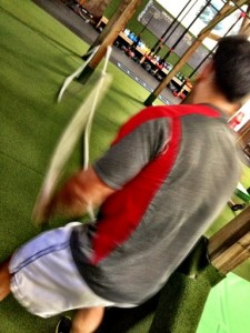 Alan Gutierrez on the Battle Ropes at Innovative Results, The Orange County Fitness Playground