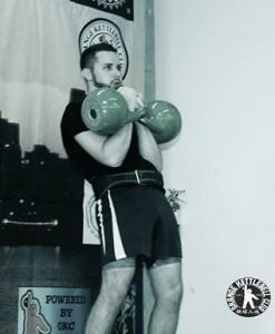 Eric Berringer 24kg Jerk. Photo courtesy of OKC & NAZO Foto.