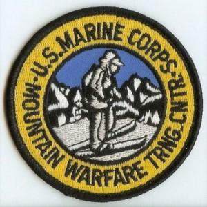 USMC MWTC Patch