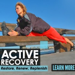 Active Recovery, Innovative Results Recovery class, restore, renew, replenish