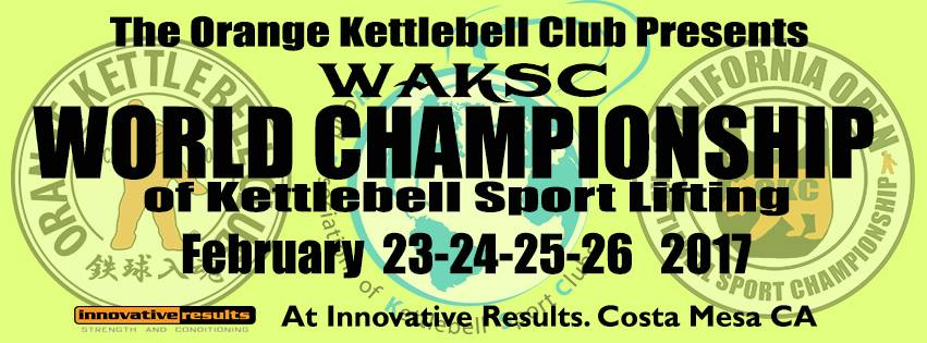WAKSC World Championship, World Association of Kettlebell Sport Clubs, Kettlebell World Championship