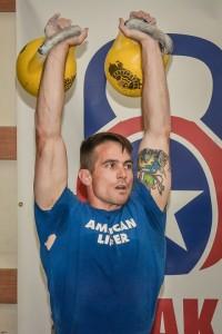 Kettlebell Bolt, Aaron Guyett, Kettlebell, American Lifter, 16 kg Kettlebells